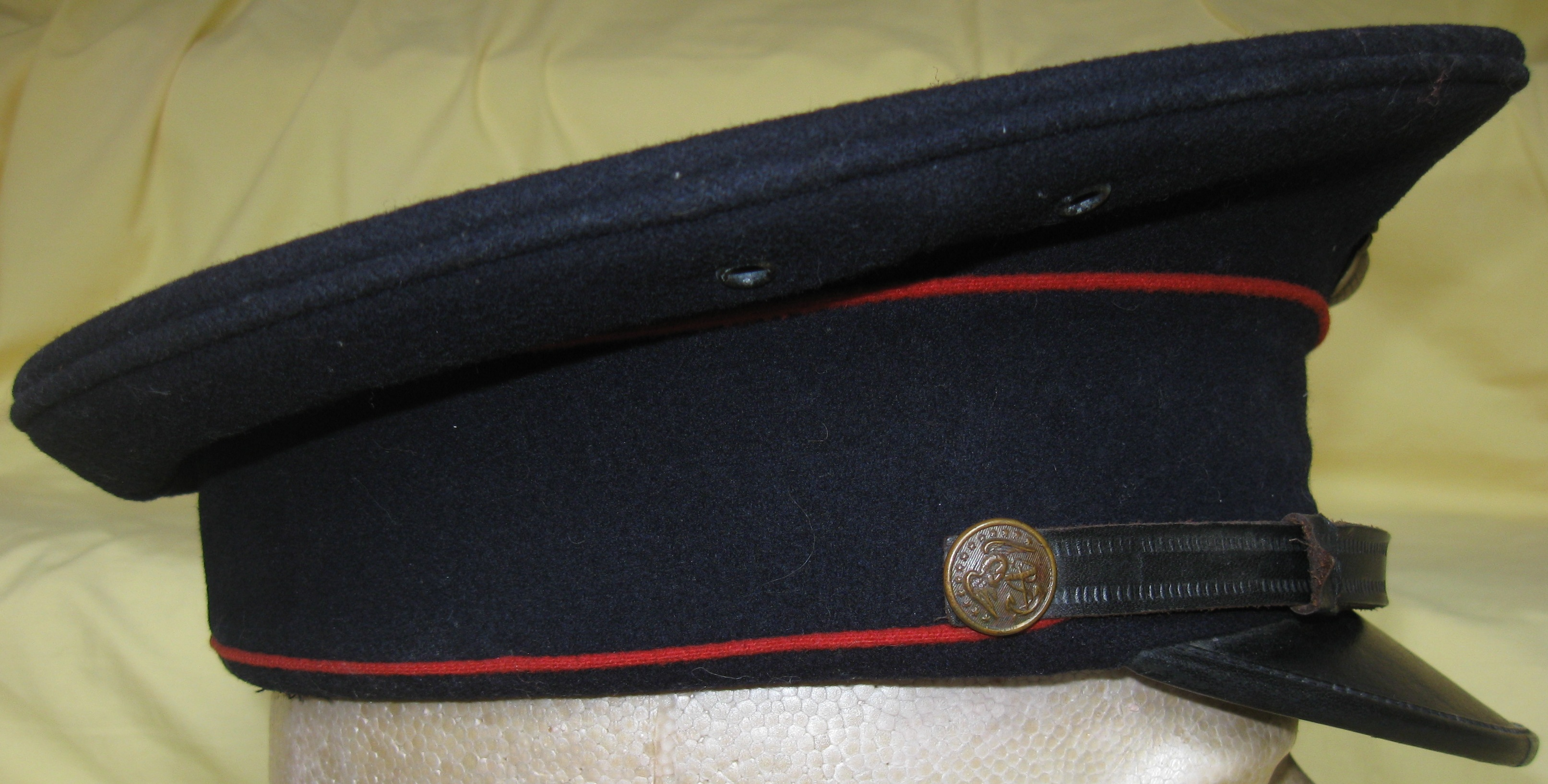 ... seen on China Marines. The EGA shown on the cap is a 1930 dress  pattern. Although the EGA appears silver in this picture e0cb28908c9d